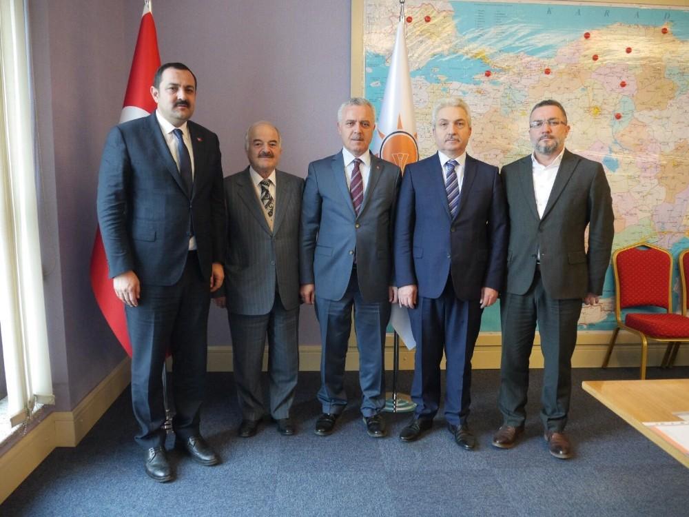 AK Parti Akseki ilçe Başkanlığına Demir atandı