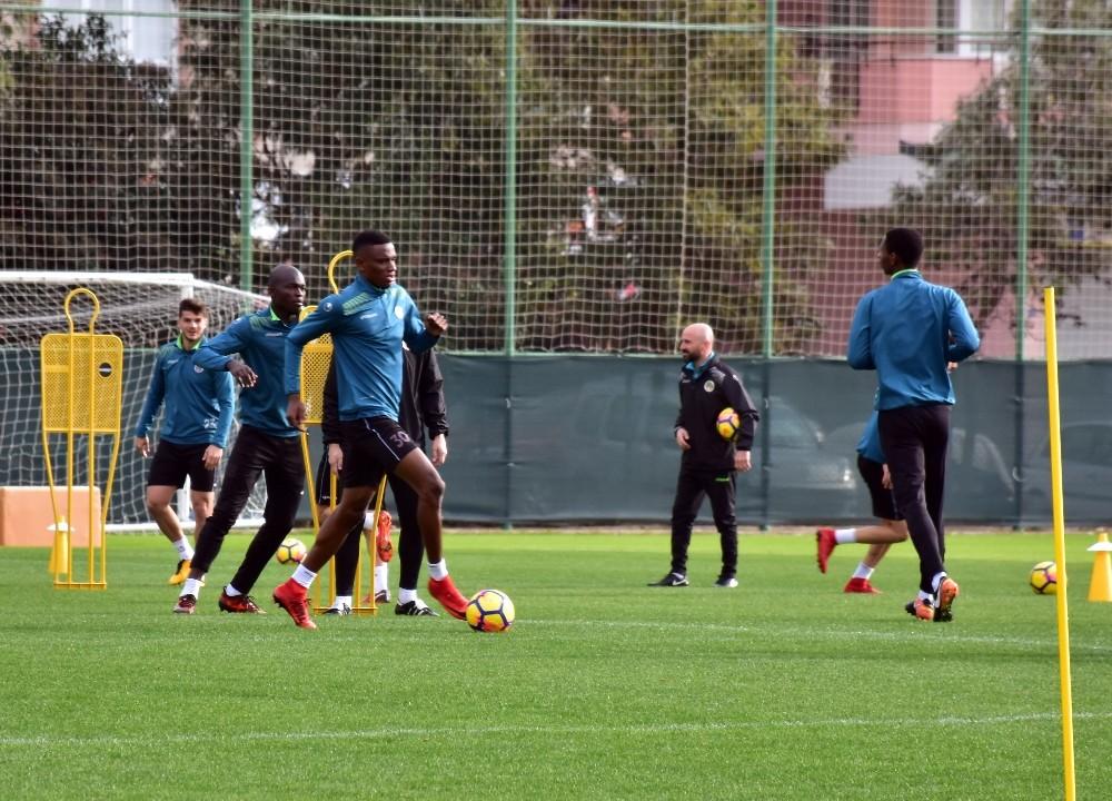 Alanspor'da Kasımpaşa maçı hazırlıkları sürüyor