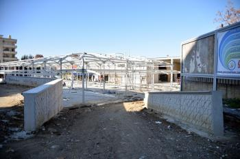 Alanya kapalı pazar yeri ve balıkçı hali tadilat projesi