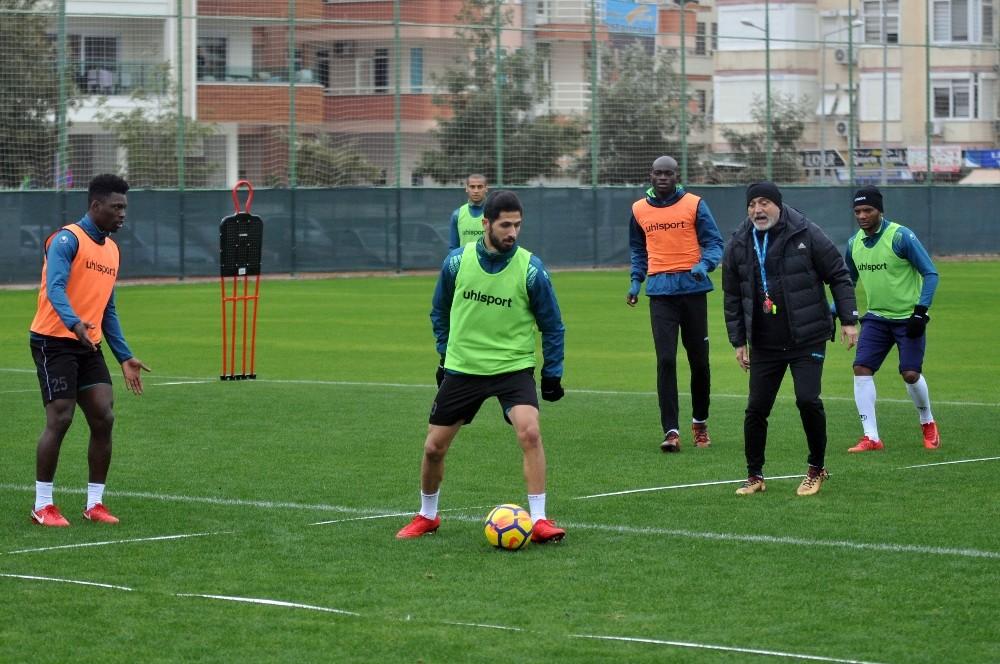 Alanyaspor, Bursaspor maçı hazırlıkları sürüyor