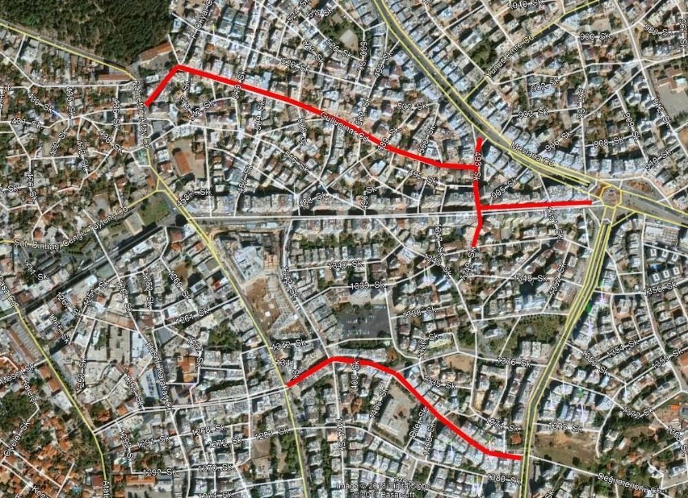 Ali Çetinkaya Caddesi trafiğe kapanıyor