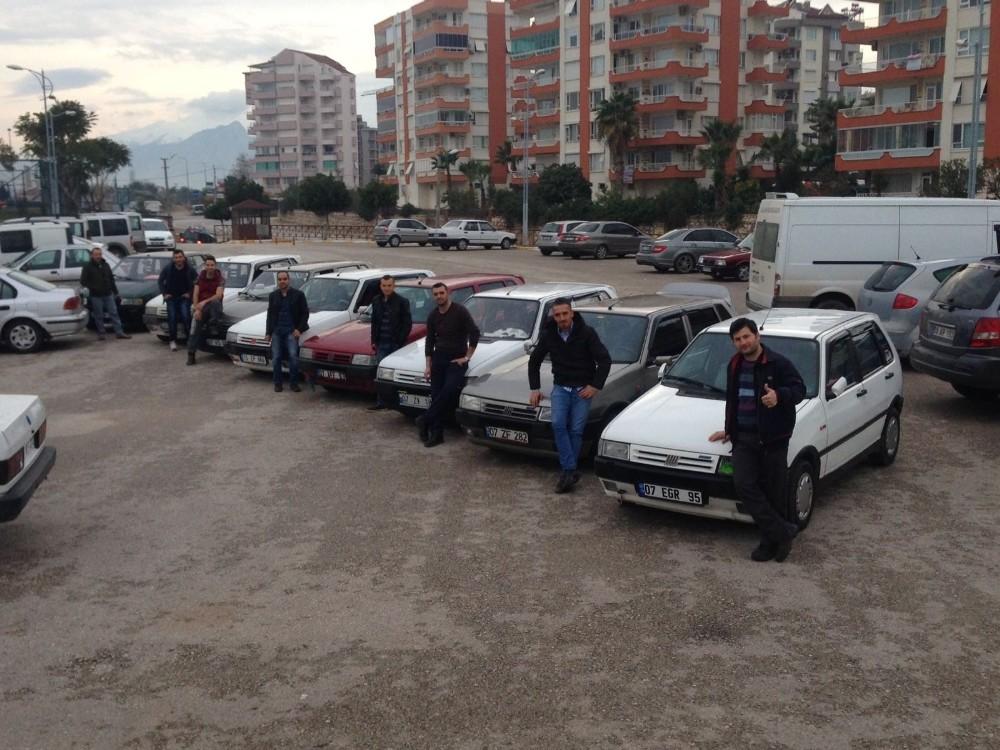 Antalya'da 'Uno' buluşması