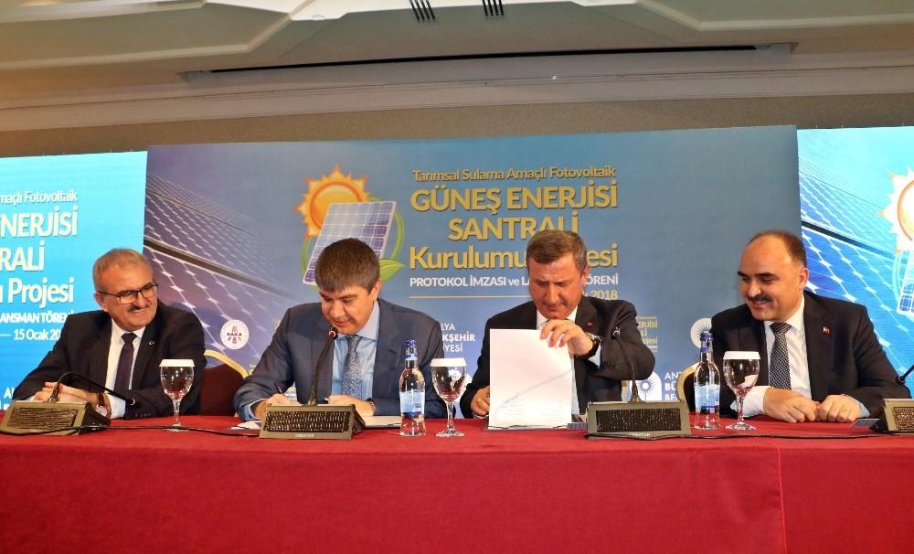 Antalya'daki çiftçilere ücretsiz elektrik geliyor