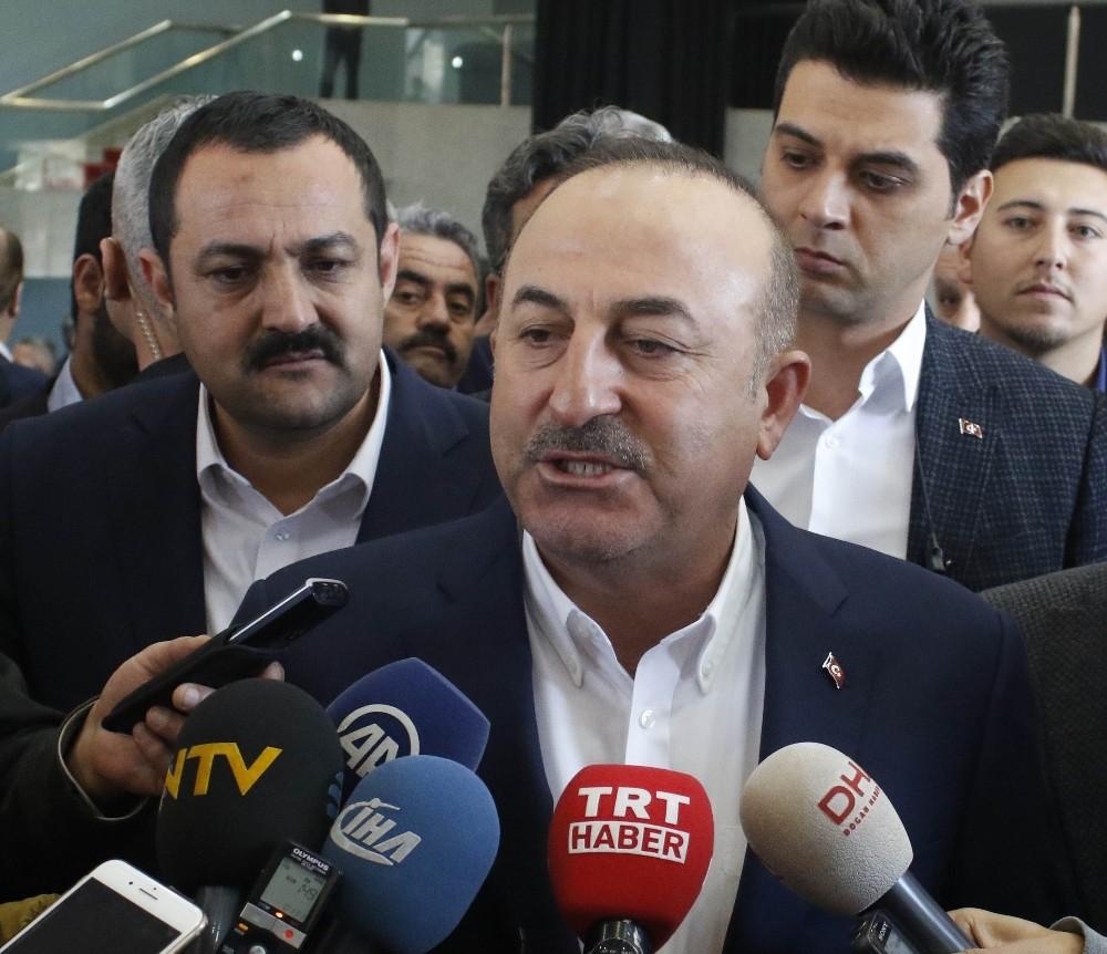"""Bakan Çavuşoğlu: """"ABD'nin terör örgütüyle bağını koparması gerekiyor"""""""
