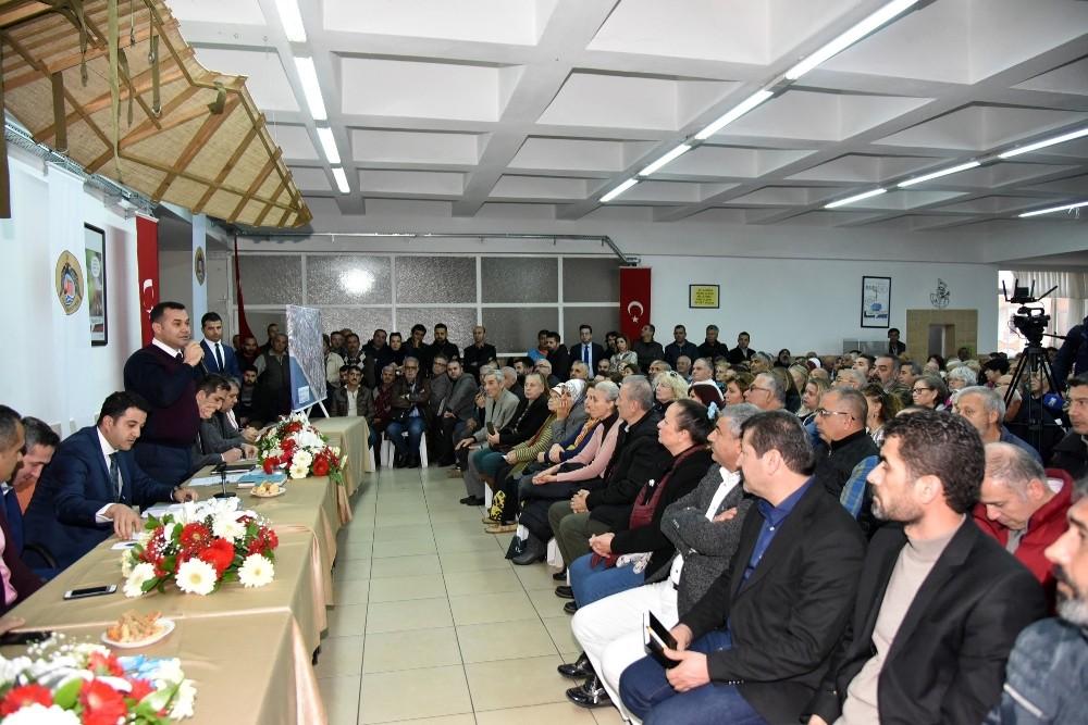 Başkan Yücel, vatandaşlara kentsel dönüşümü anlattı