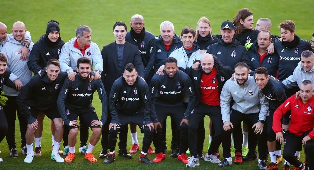 Beşiktaş Antalya'da hazırlıklarını sürdürdü