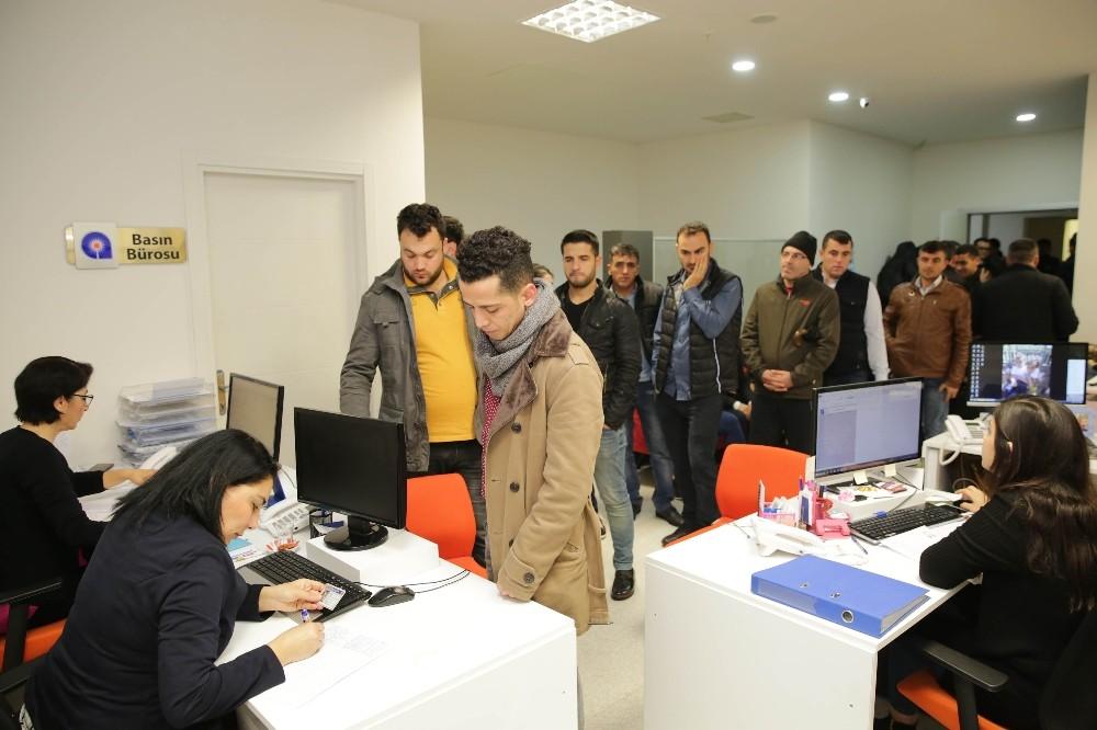 Büyükşehir 7 bin vatandaşı işe yerleştirdi