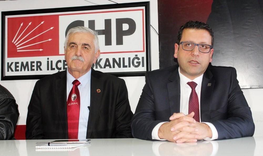 CHP'li ilçe başkanı, belediye başkanını şikayet etti