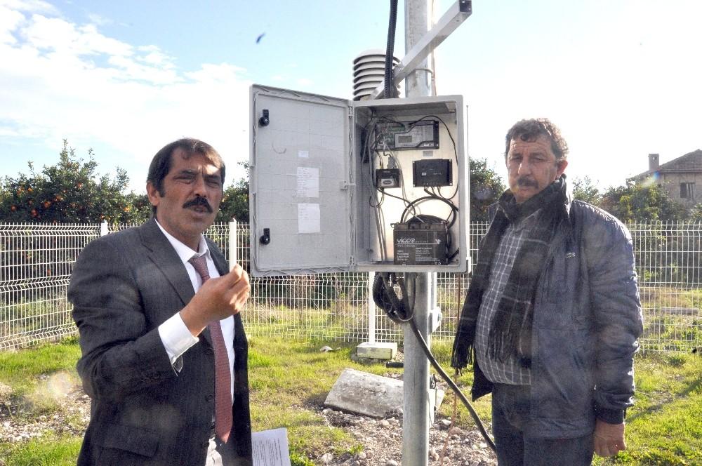 Finike'ye Meteoroloji gözlem istasyonu