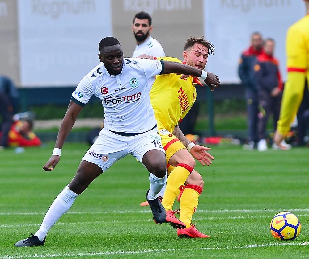 Hazırlık maçı: Göztepe: 1 – Atiker Konyaspor: 1