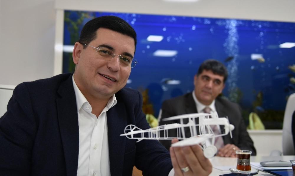 İlk Türk uçağı 'Vecihi K-6'nın bir örneği Dokuma Müzesi'ne kazandırılacak