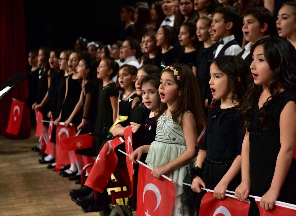 Kepezli çocuklardan müzik ziyafeti