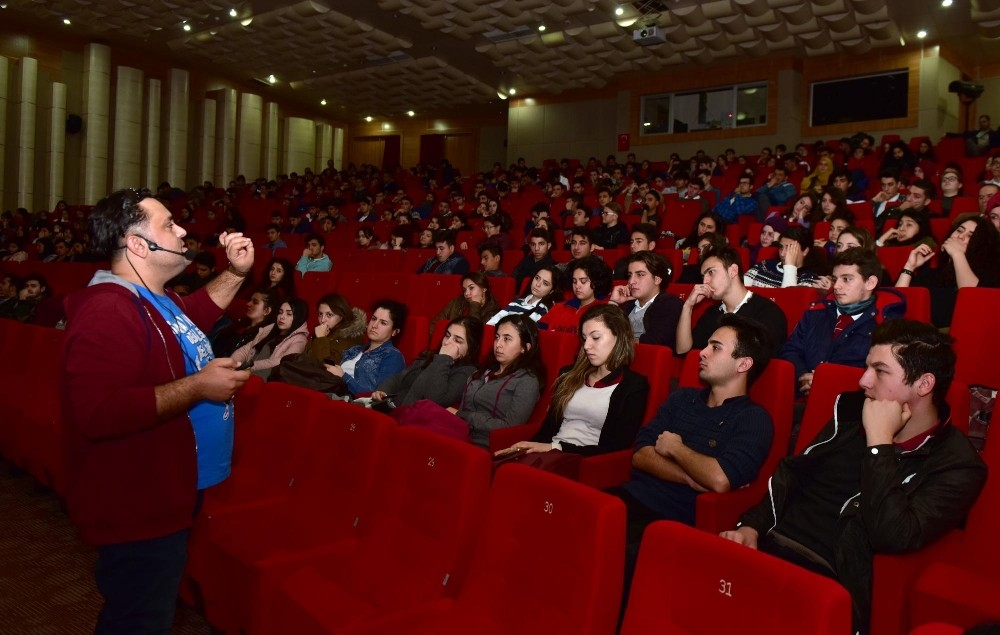 Kepezli öğrencilere motivasyon semineri