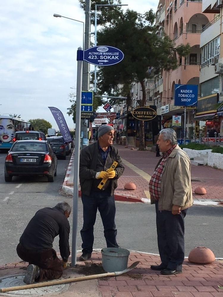 Konyaaltı'nda cadde ve sokaklar numaralandırıldı