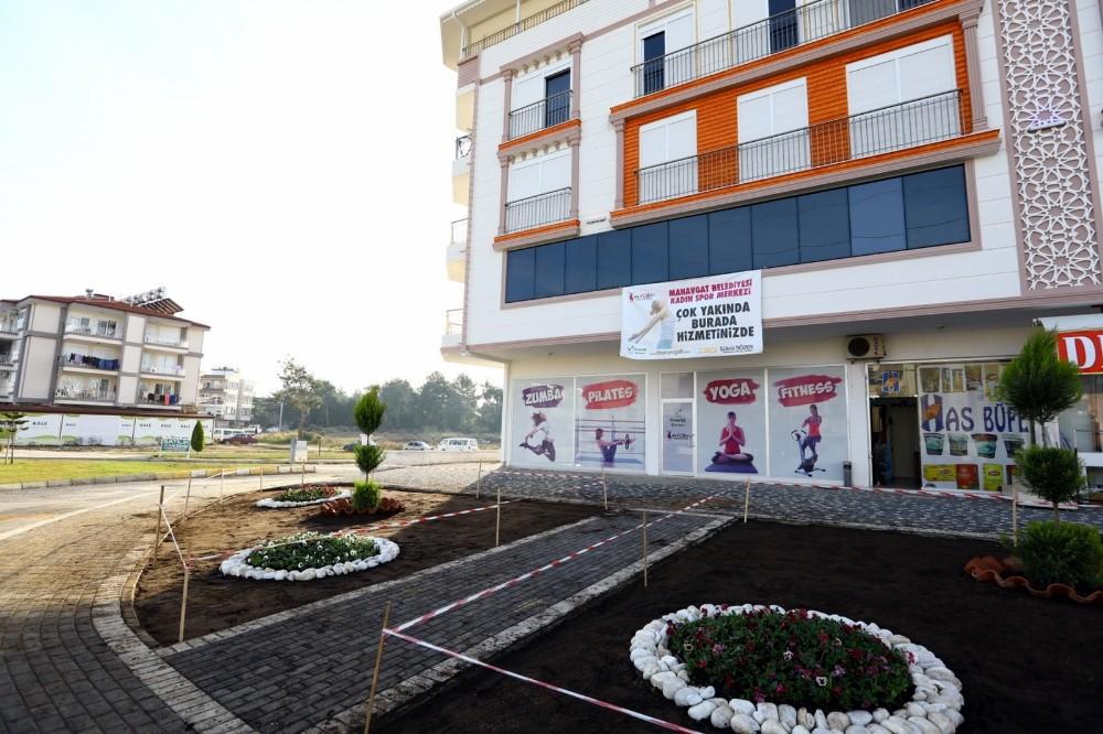 Manavgat Belediyesi Kadın Spor Merkezi açılıyor