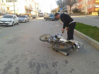 Manavgat'ta 2 trafik kazası: 1 yaralı
