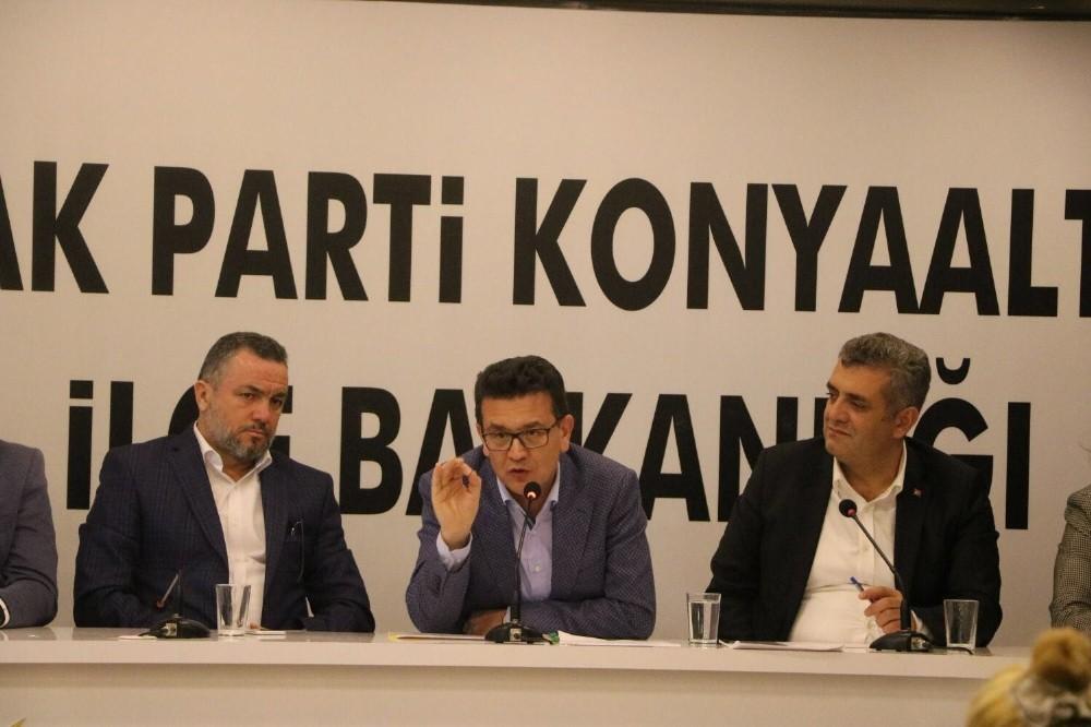 """Milletvekili Uslu: """"Konyaaltında tüm gönülleri kazanacağız"""""""