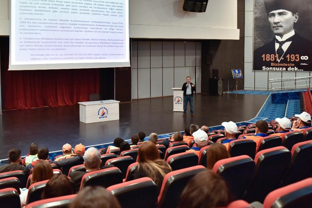 Muratpaşa'da uyuşturucu semineri