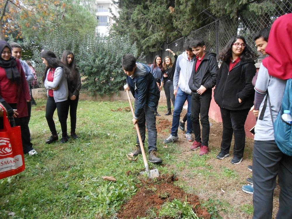 Muratpaşa'dan okul bahçelerini ağaçlandırma seferberliği