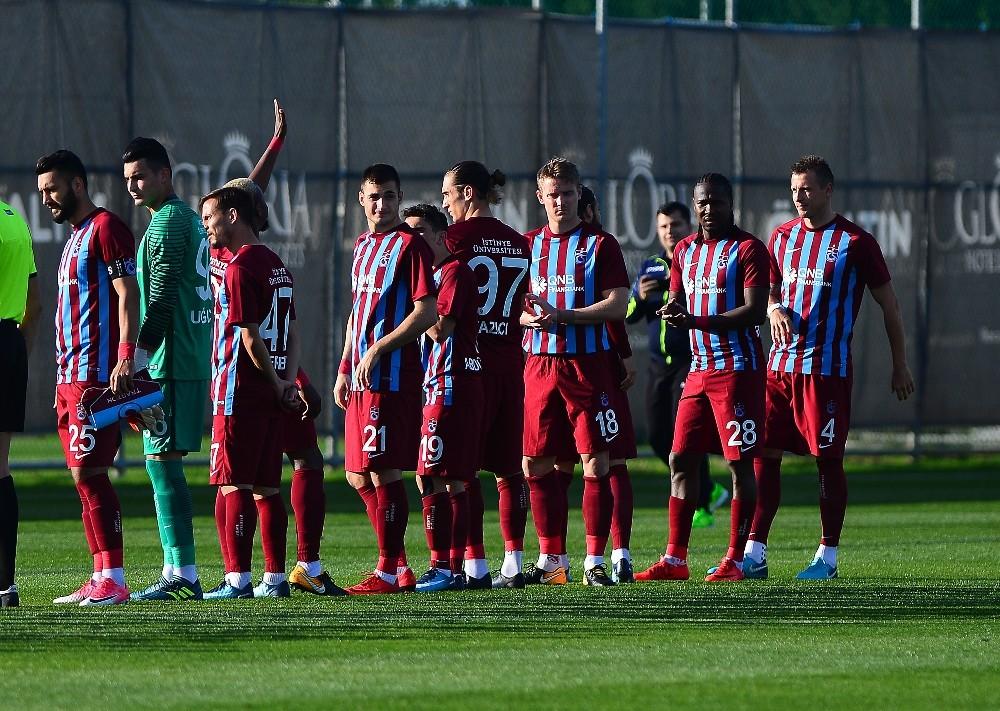 Trabzonspor, Luftetari'yi 2-1 mağlup etti