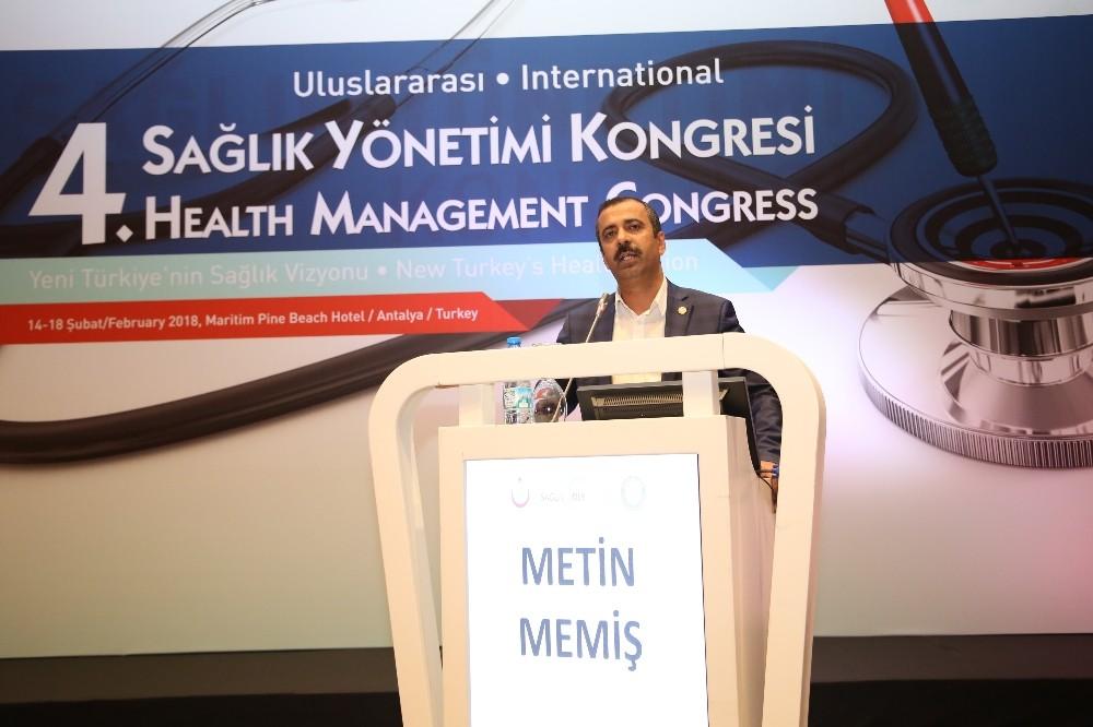 4. Uluslararası Sağlık Yönetimi Kongresi Antalya'da başladı