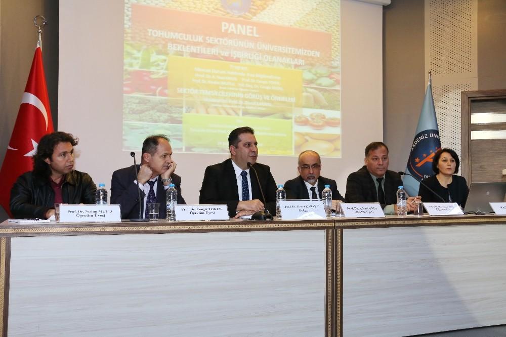 Akdeniz Üniversitesi'nden Tohumculuk Paneli