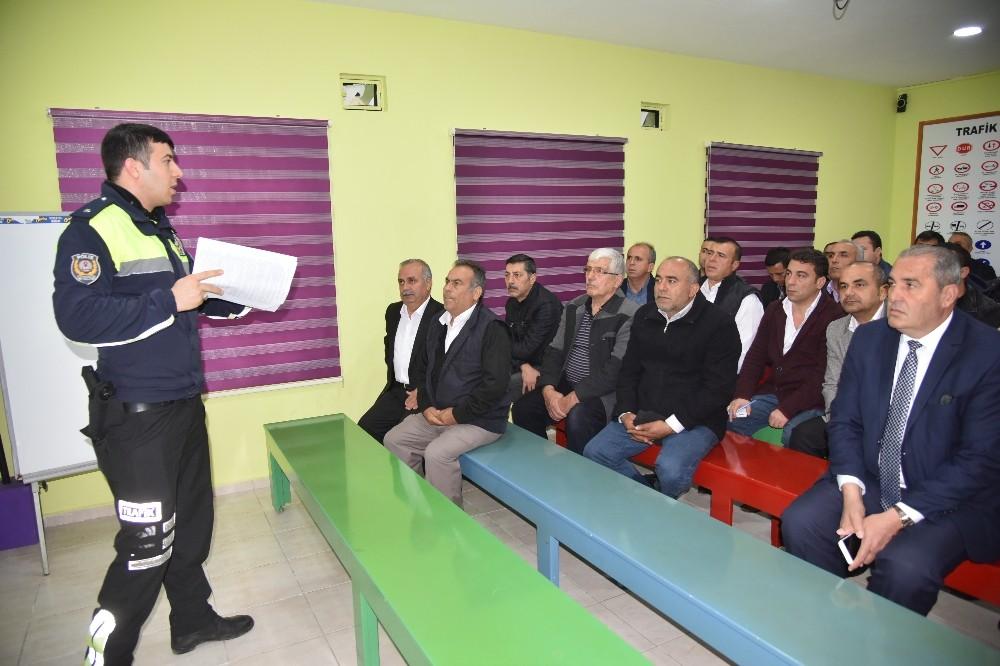 Alanya'da servis şoförlerine eğitim