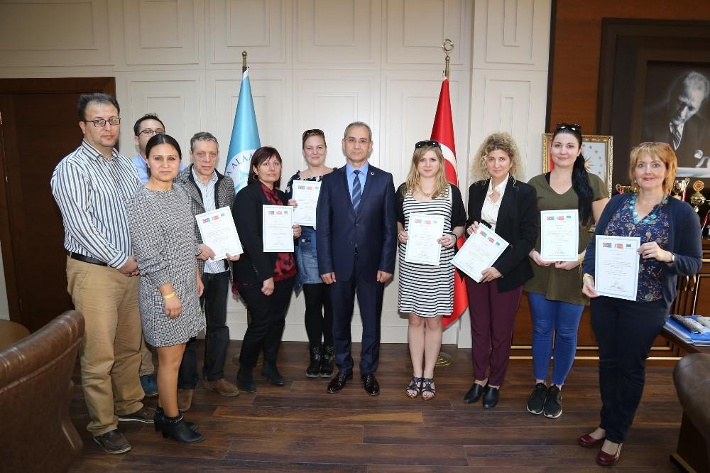 ALKÜ'de AB projesi 5 ülkenin katılımıyla start aldı