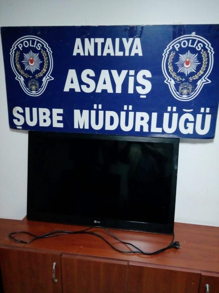 Antalya'da iş yerinden hırsızlık yapan 1 kişi yakalandı