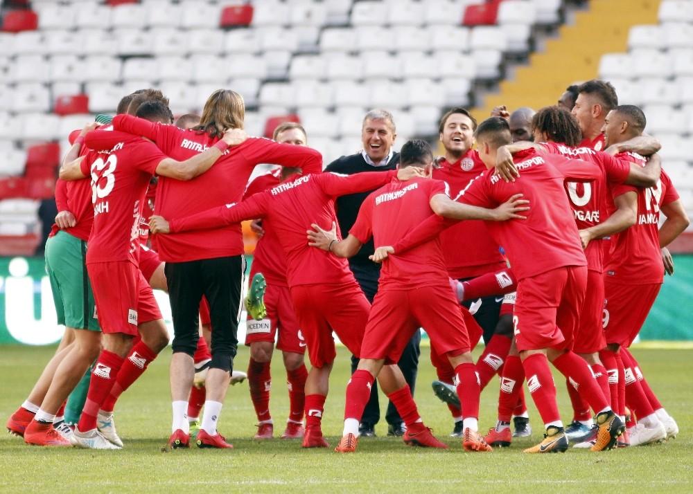 Antalyaspor'da galibiyet haftası
