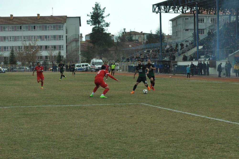 BAL: Korkuteli Belediyespor: 0- Konyaaltı Belediyespor: 1