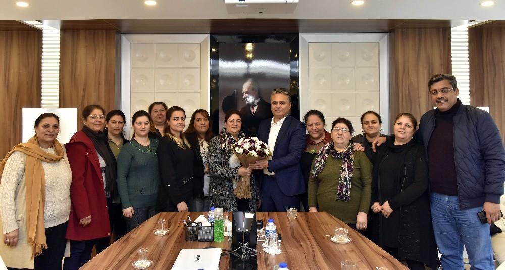 Başkan Uysal Zeytinköylü kadınlarla buluştu