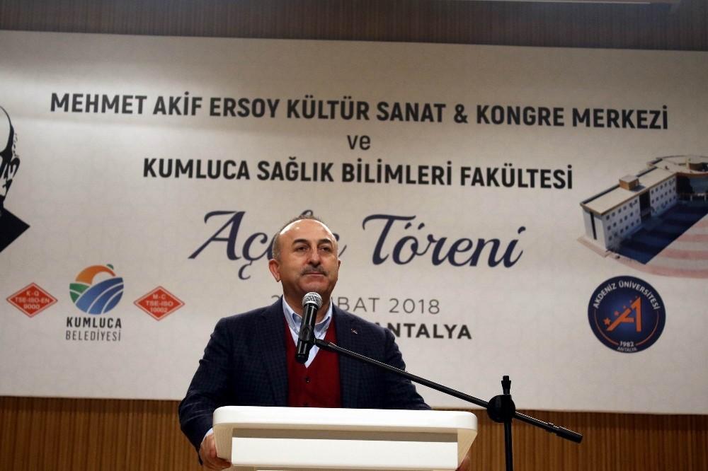 """Çavuşoğlu: """"Türkiye Avrupa'nın sigortasıdır"""""""