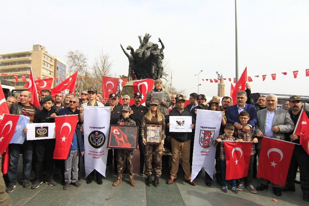 Emekli Özel Harekatçılardan Afrin'deki Mehmetçiğe destek