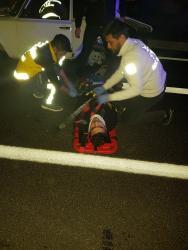 Finike'de trafik kazası: 2 yaralı