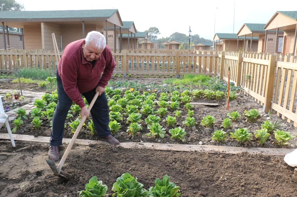 Hobi Bahçesi emeklilerin vazgeçilmezi oldu