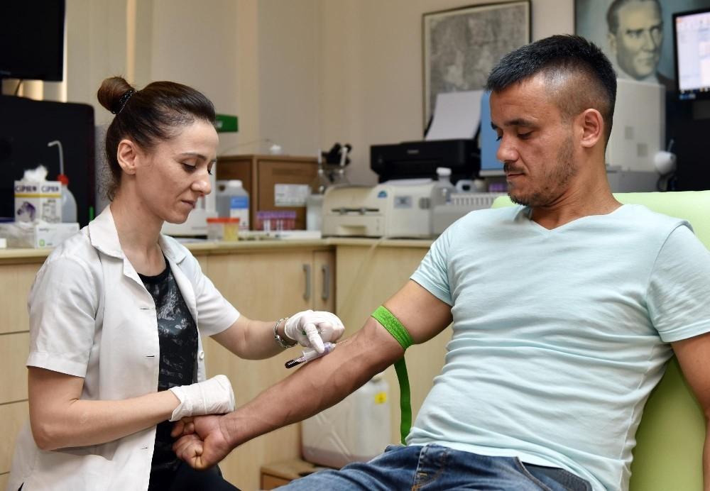 Kepez'den evlenecek çiftlere talasemi testi desteği