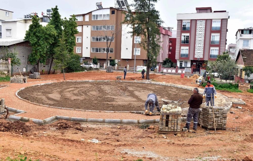 Kültür Mahallesi'ne yeni semt parkı