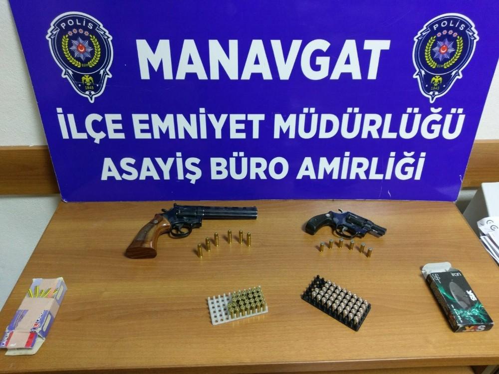 Manavgat'ta işyeri sahibi suç makinesi çıktı