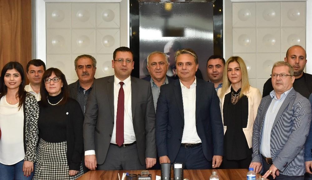 Uysal, CHP İl yönetimini ağırladı