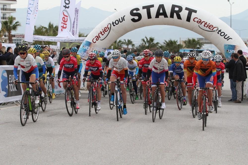 Women Elite Yol Bisiklet Yarışı sona erdi