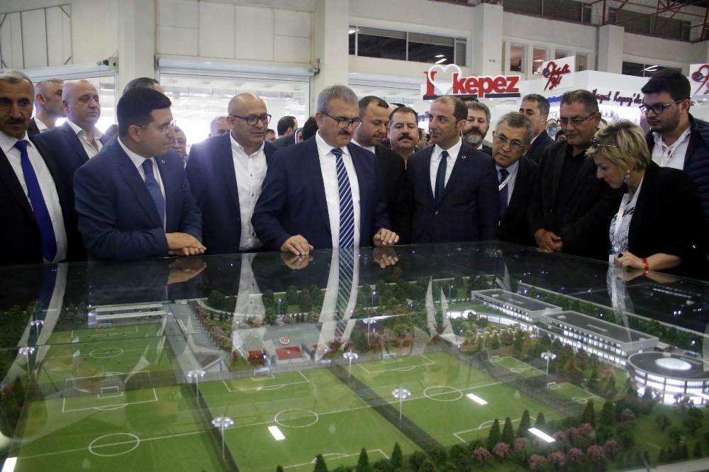 8. Antalya City Expo-Antalya Şehircilik ve Teknolojileri Fuarı kapılarını açtı
