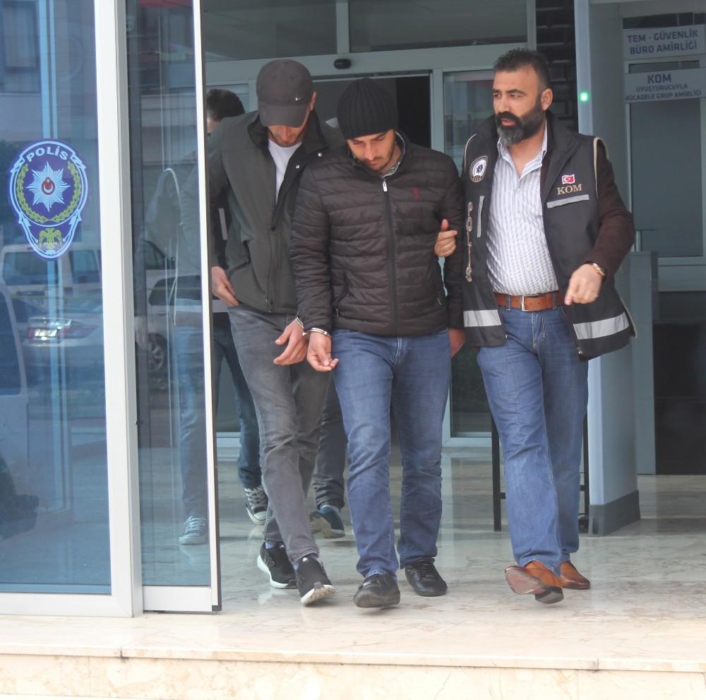 Alanya'da tefeci operasyonuna 2 tutuklama