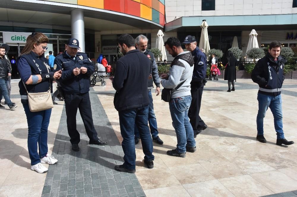 Antalya' da 'Türkiye Güven Huzur Uygulaması -10'