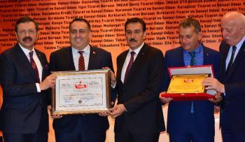 Antalya DTO ''Akreditasyon Sertifika Belgesi'' aldı