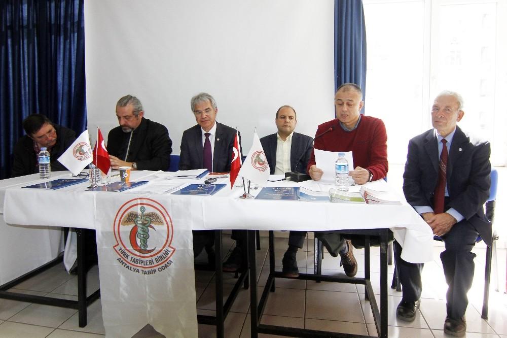 Antalya Tabipler Odası'ndan 14 Mart Tıp Bayramı toplantısı
