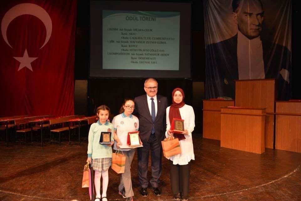 Antalya'da İstiklal Marşı'nın kabulü programı