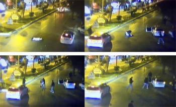 Antalya'da küçük kızın ölümüne neden olan kaza kameralara yansıdı