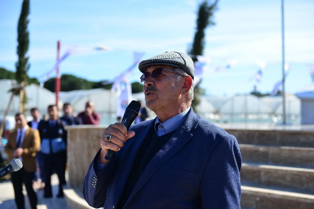 Antalya'da Şehit Ömer Halisdemir Parkı şehidin babasının katılımıyla açıldı