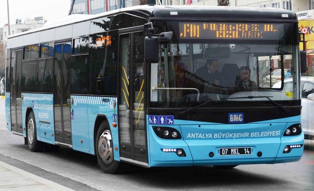 Antalya'da ulaşıma 116 yeni otobüs